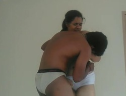 Mallu beautiful chubby wife with her lover trickled clip - 2
