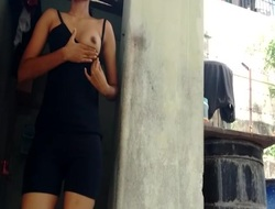 Indian girl flashing neighbour